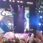 Switch of Major Lazer at the Red Bull Grove Stage